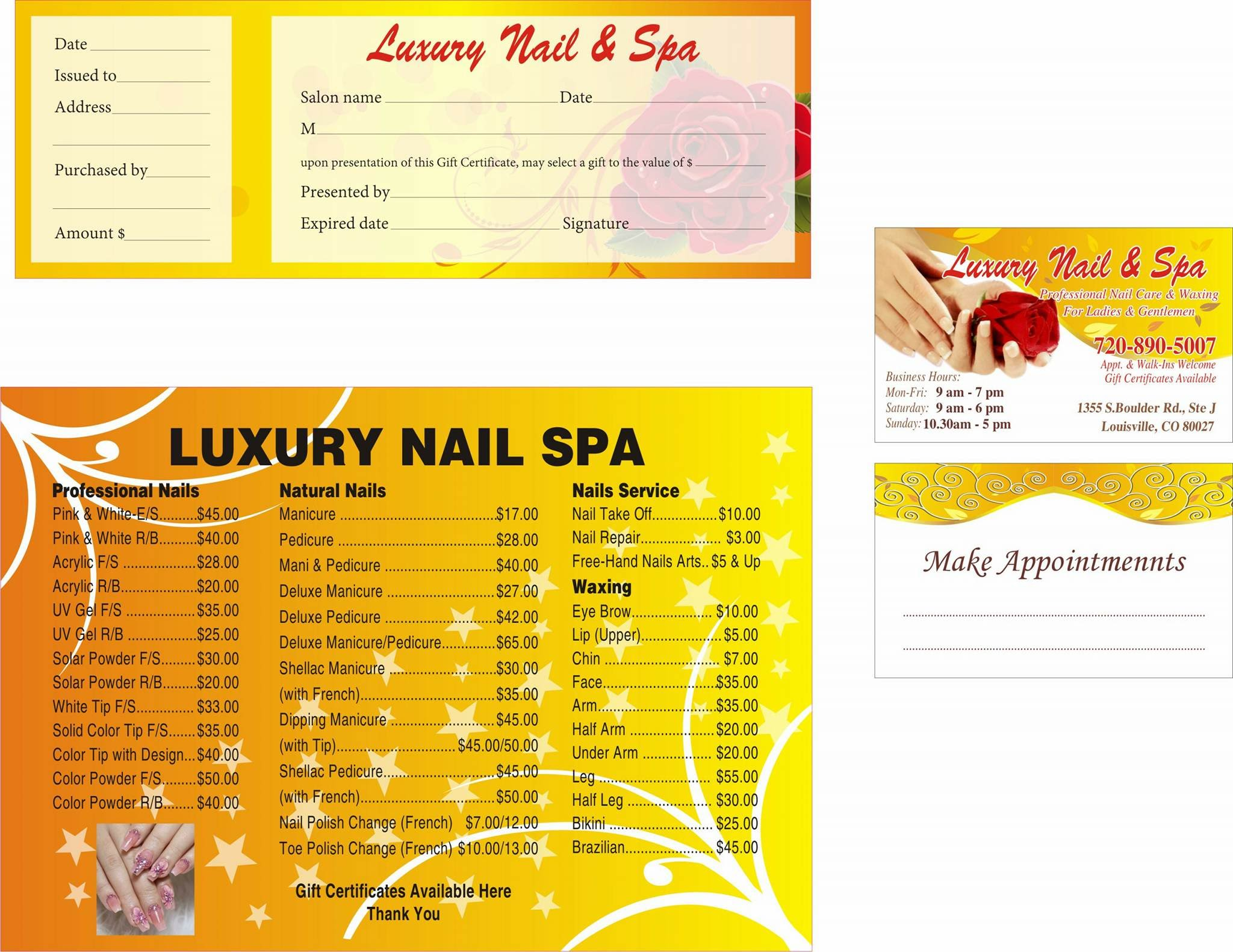 Luxury Nails and Spa
